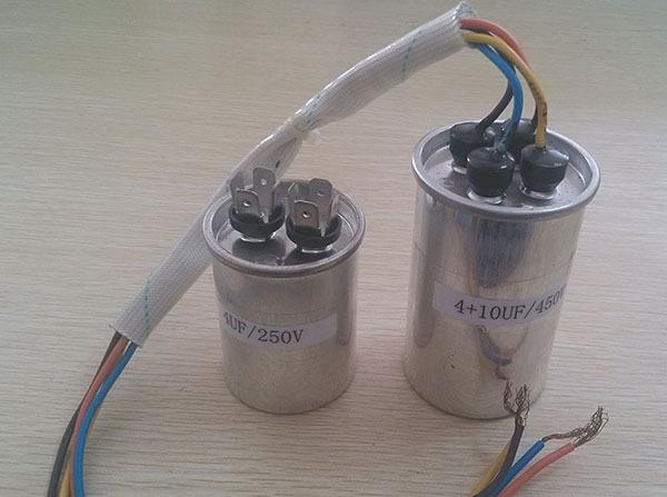 370vac 450vac polypropylene film capacitor induction Single phase induction motor capacitor start