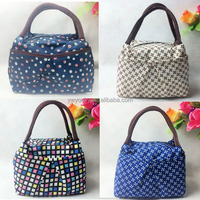 2015 hot selling New Hot mix color cute women tote adult lunch bag