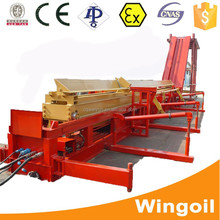 Oil well drilling automatic casing catwalk for workover rig