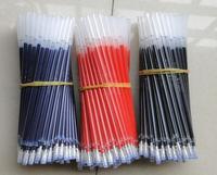 Wholesale office& school stationery loose packing gel ink pen refill 0.5mm in bulk