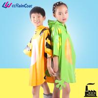 Cheap PVC raincoat for kids