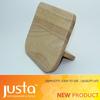 stab knife block wooden holder