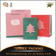 Wholesale OEM Custom Printed Shopping Tote Paper Bag