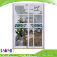 Aluminium door is a kind of decorative ornament using quite unique craft glass matching with fine - quality aluminium profile