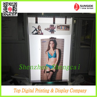 frontlit &backlit pvc flex banner for bra show