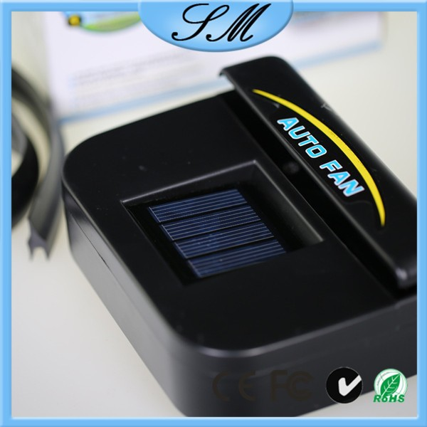 solar powered auto cool fan air vent auto cool solar power car fan air vent for cars buy solar. Black Bedroom Furniture Sets. Home Design Ideas