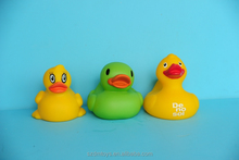 roto casting vinyl toy plastic yellow bath duck toy in ICTI approved factory