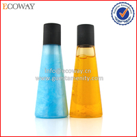 beautiful shampoo bottle design with black cap