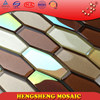 Wholesale mixed color wall tile crystal white mosaic for building materials