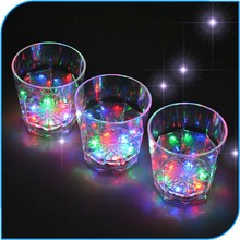 Novelty Party Favor Led Light Beer Glass Cup With Led Light Glovion Drinking Glass Whisky Cups Led Drinking Glass