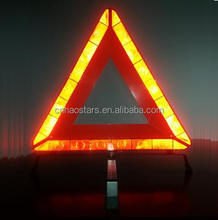 Car Safety Warning Triangle with Emark Reflective Material Auto Parts roadside kits
