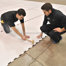 wear resistant 4x8 plastic hdpe sheet for skating rink with 100% virgin material
