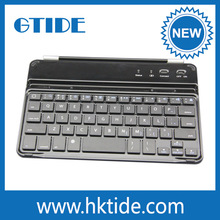 Li-Polymer Battery Smart Wake/Sleep Bluetooth Keyboard Case Aluminum For Ipad Mini