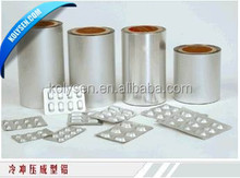hot sale Pharmaceutical Capsule and Tablets Packaging Alu Alu Cold Formed Foil