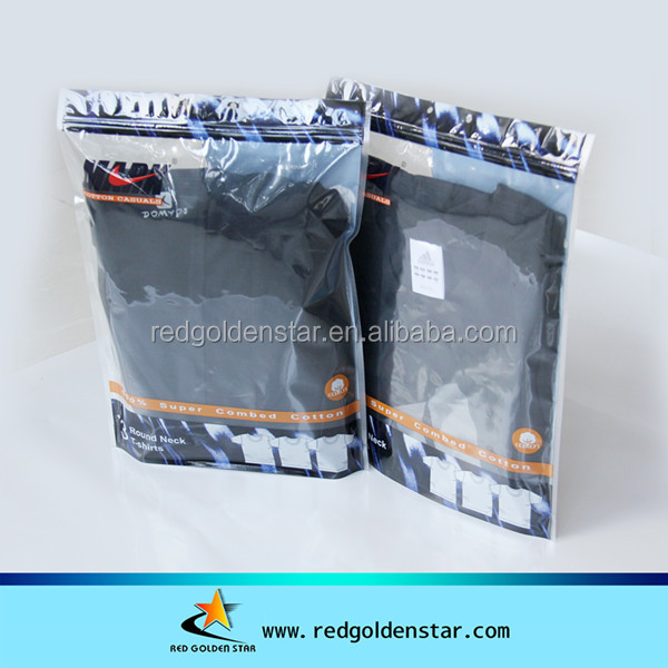 Cheaper Custom LDPE Clear Plastic Zipper Garment Bag