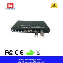 Ring Type Self-healing 6FE+2SFP switch managed Ethernet switch fiber optic ethernet switch