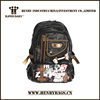 2015 top quality cotton canvas backpack bag