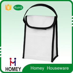 China Manufacturer Excellent Quality Best Price 600D Lunch Bag Velcro