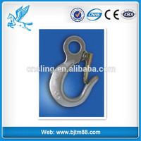 Trade Assurance lifting swivel hook-hot forged, stainless steel hook and eye
