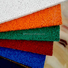 Esportes piso de borracha pisos antiderrapantes para quintal cor telhas para pavimentação FN-E-15093008