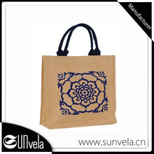 Jute ECO-Friendly Recycling Shopping Bag With Low Price Manufacturers Wholesale Beach For Girls