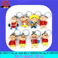 custom snowman 3D soft pvc keychain for holiday promotion