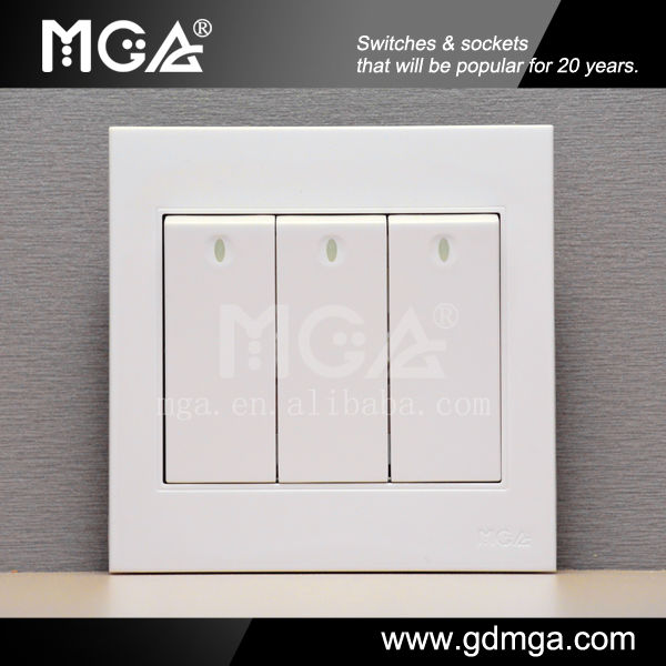 16a 250v Ultra-flat Fancy Light Switches - Buy Fancy Light Switches ...