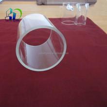 custom borosilicate glass tube/pyrex color glass tube/borosilicate tube