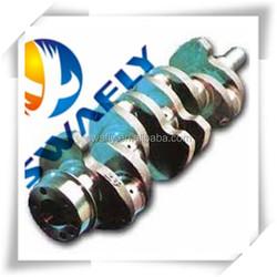 Excavator Parts Crankshaft Casting Forging 4TNV94, Engine Crankshaft R55-7 129907-11700