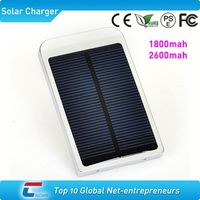 1800mah polysilicon mobile phone solar charger for lg