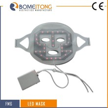 Top!!! LED light young skin rejuvenation face mask