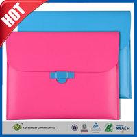 C&T Top grade sublimation pu leather envelop case for ipad air 2