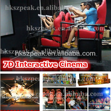 7d interactive game with guns 7d cinema