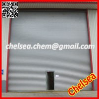 High security strength steel industrial manual roll-up door