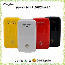 rechargeable phone charger 10000mah for mobilephone,dual USB power bank with sports car shape