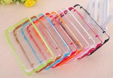 Crystal clear phone case luminous fancy cell phone cover case for ihpone 6
