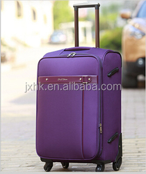 expandable trolley baggage case travel luggage on wheels