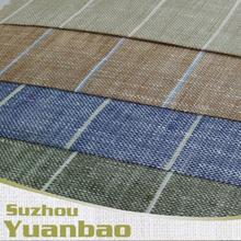 linen cotton yarn dye fabrics for men shirt