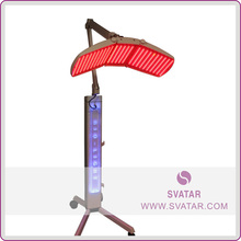 LED photo red light therapy for skin