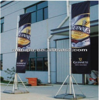 5m outdoor giant aluminum flagpole in guangzhou