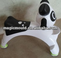 2014 high quality new design children used movable plastic shilly car mould