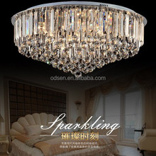 European design Contemporary LED Energy Saving crystal ceiling light