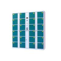 Smart electronic 12/24/40/48 doors storage locker/cabinets in supermarket and natatorium