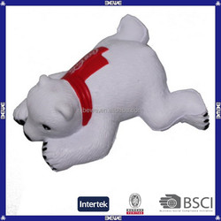 wholesale high quality custom pu bear stress ball