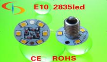 China supplier smd3528 e10 e14 24v 64v rides theme parks CE RoHS led amusement lamps