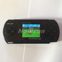 PVP game console pocket game player +TV out function many good games built in handheld video games console