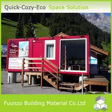 Prefab Modern Mobile Fast Food Selling House with Equipment
