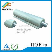 50ohm ito film for led decoration