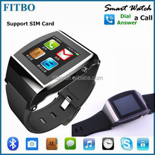 Perfect Promotion Alarm , SIM , TF , Camera , waterproof wrist watch mobile phone