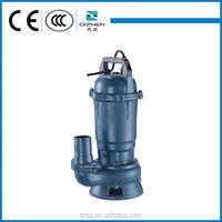Cast Iron WQ 220v Alibaba China Export Pumps Single Phase Submersible Motor Sewage Water Pump 1/2 Hp